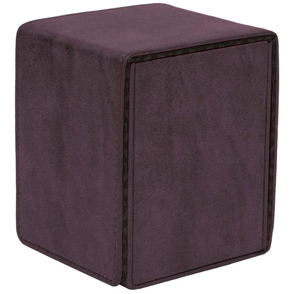 Ultra Pro Suede Collection Alcove Flip Deck Box - Amethyst