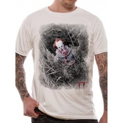 IT - Hidden Men's Medium T-Shirt - White