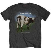 Pink Floyd - Atom Heart Mother Fade Men's X-Large T-Shirt - Charcoal Grey