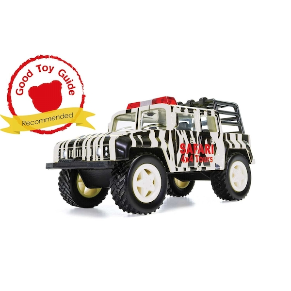 Off Road Safari (Black & White) Chunkies Corgi Diecast Toy