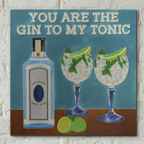 Gin To My Tonic Wall Tile