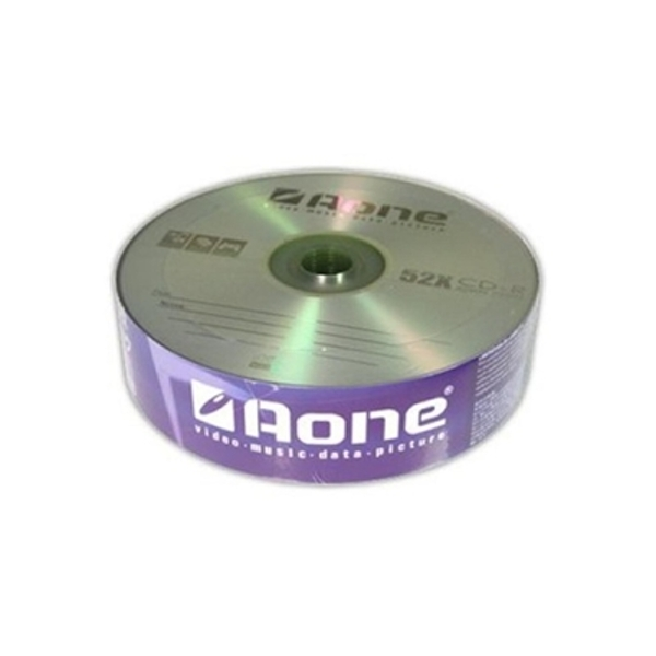 Aone 52 x CDR 25 Pack Logo - Image 1