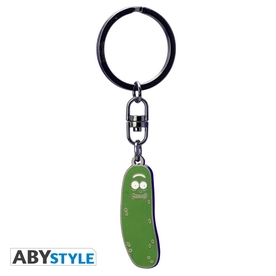 Rick And Morty - Pickle Rick Metal Keyring