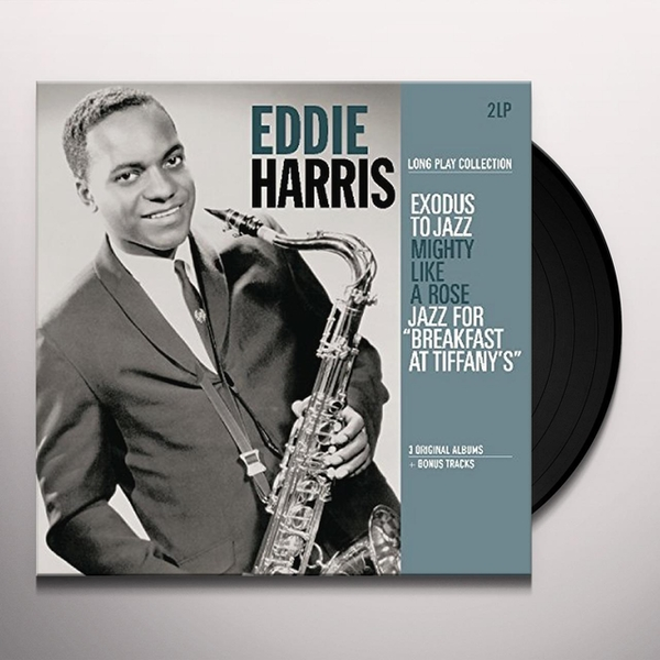 Eddie Harris - Long Play Collection (Exodus To Jazz / Mighty Like A Rose / Jazz For Breakfast At Tiffany's) Vinyl