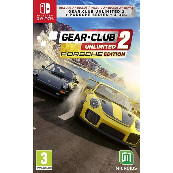 Gear Club Unlimited 2 Porsche Edition Nintendo Switch Game