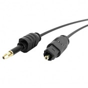 6ft Toslink to Mini Digital Optical SPDIF Audio Cable