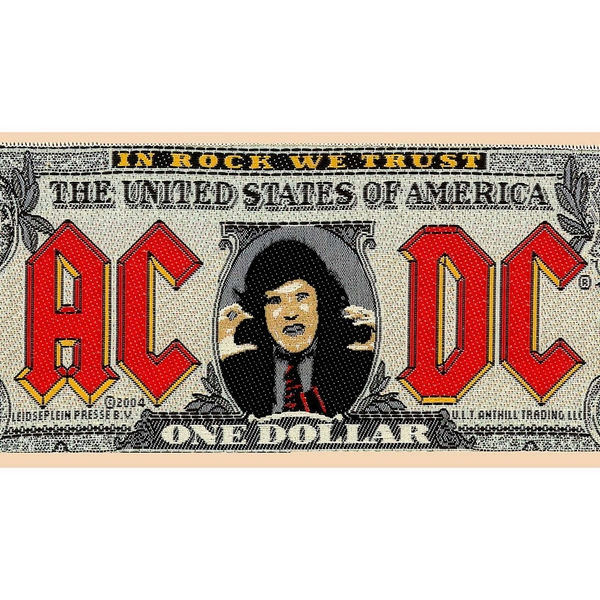 AC/DC - Bank Note Standard Patch