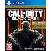 Ex-Display Call Of Duty Black Ops 3 III Gold Edition PS4 Used - Like New