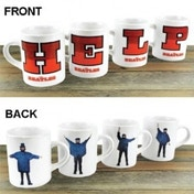 The Beatles HELP! Mini Mugs set of 4