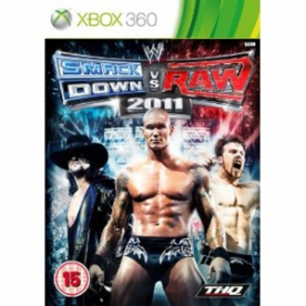 WWE Smackdown vs Raw 2011 Game Xbox 360