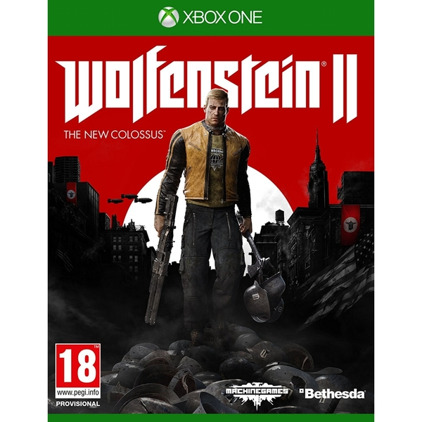 Wolfenstein II The New Colossus Xbox One Game [Used]