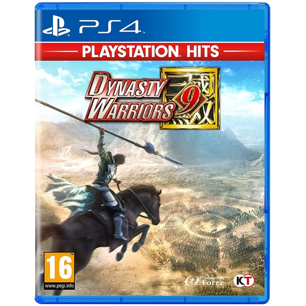 Dynasty Warriors 9 PS4 Game (PlayStation Hits)