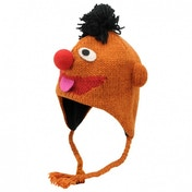 Official Sesame Street Knit Hat Ernie