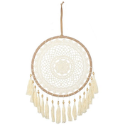 Cream Dreamcatcher with Tassels Pack Of 2