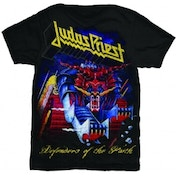 Judas Priest Defender of Faith Mens T Shirt: X Large