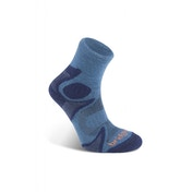 Bridgedale Men's Cool Fusion Trail Head Socks, Blue - XL