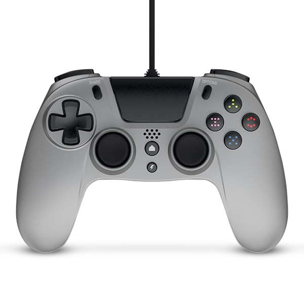 Gioteck VX-4 Wired Controller Silver for PS4