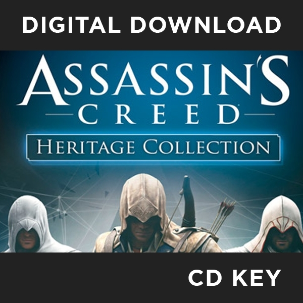Assassin's Creed Heritage Collection PC CD Key Download for Steam