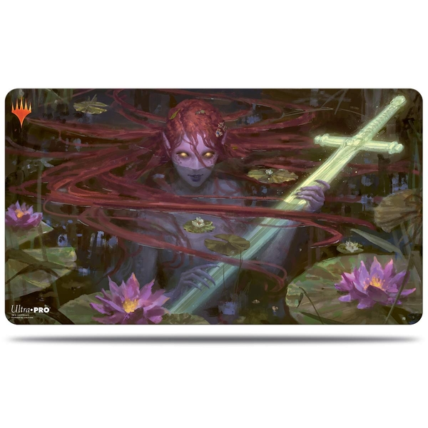 Ultra Pro Magic The Gathering: Throne of Eldraine Lurker of the Lake Playmat