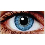 Sea Blue 3 Month Natural Coloured Contact Lenses (MesmerEyez Blendz)