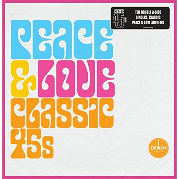 Various Artists - Peace & Love - Classic 45S Vinyl