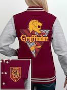 Harry Potter - House Gryffindor Women's Small Varsity Jacket - Red