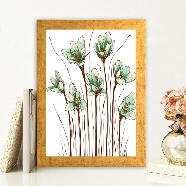 AC140770543 Multicolor Decorative Framed MDF Painting