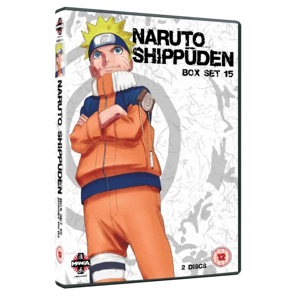 Naruto Shippuden Box 15 Episodes 180-192 DVD