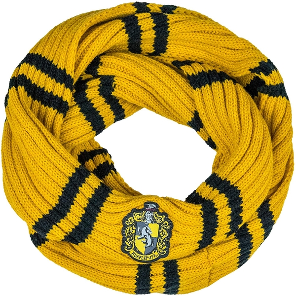 Harry Potter Infinity Scarf Yellow & black