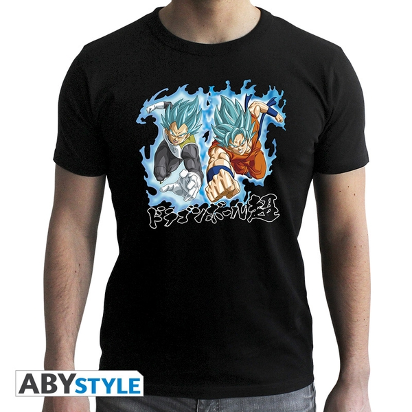 Dragon Ball Super - Goku & Vegeta Men'S Medium T-Shirt - Black