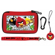 Angry Birds 4pc Stereoscopic 3D Gamer Case Red 3DS/DSi
