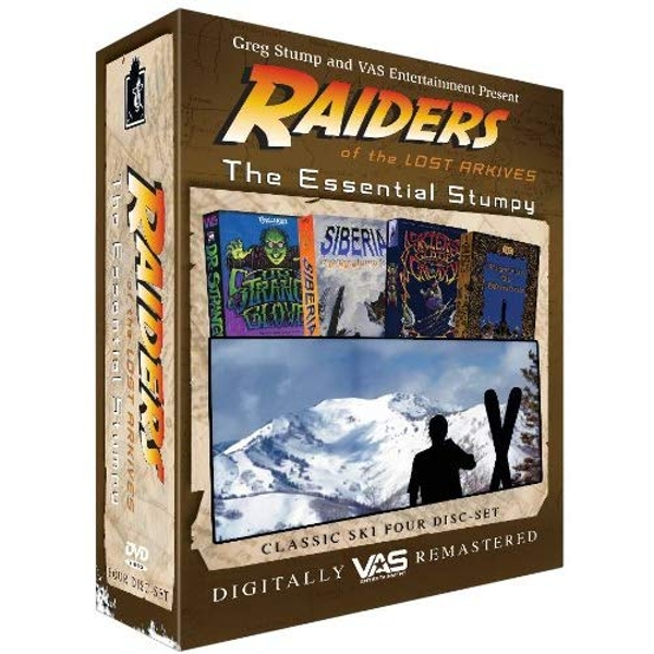 Raiders Of The Lost Arkives - The Essential Stumpy DVD