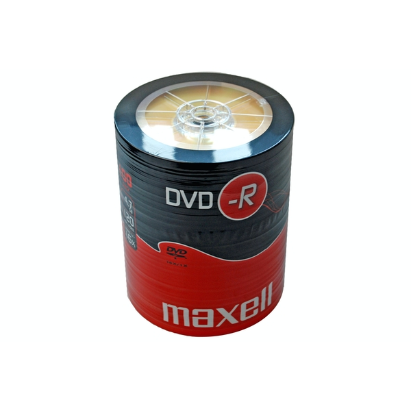 Maxell DVD-R 100 Pack Shrink Wrap