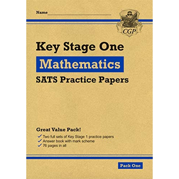 New KS1 Maths SATS Practice Papers: Pack 1 (for the 2021 tests)  Paperback / softback 2018