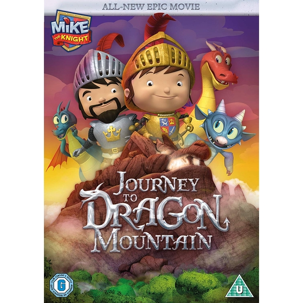 Mike The Knight: Journey to Dragon Mountain DVD
