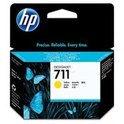 HP CZ136A (711) Ink cartridge yellow, 29ml, Pack qty 3