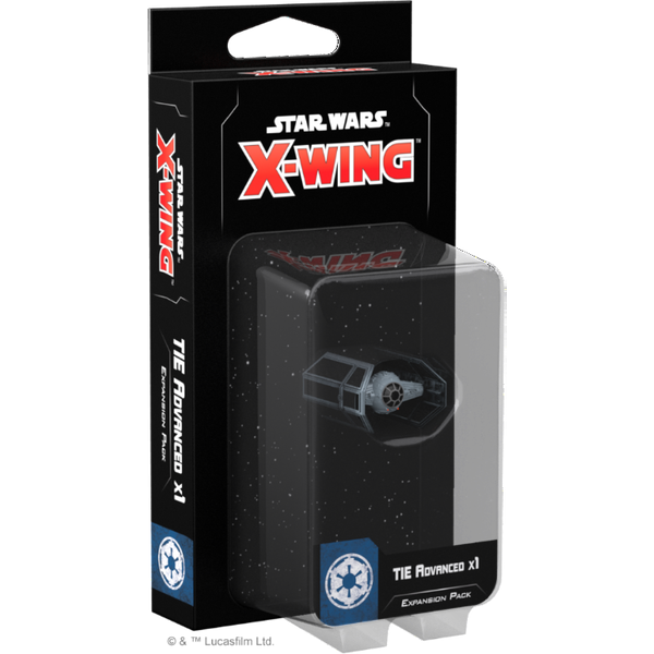 Star Wars X-Wing Second Edition TIE Advanced x1 Expansion Pack Board Game