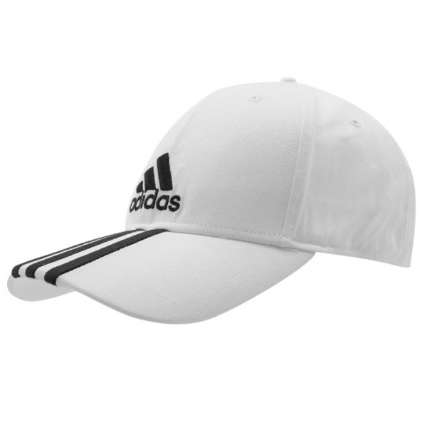f7bf55fc55 adidas Perforated 3 Striped Cap White/Black