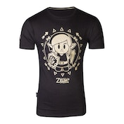 Nintendo - Tribal Link Men's X-Large T-Shirt - Black