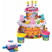 Peppa Pig Birthday Cake Dough Play Set
