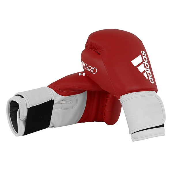 Adidas 100 Hybrid Boxing Gloves Red - 12oz