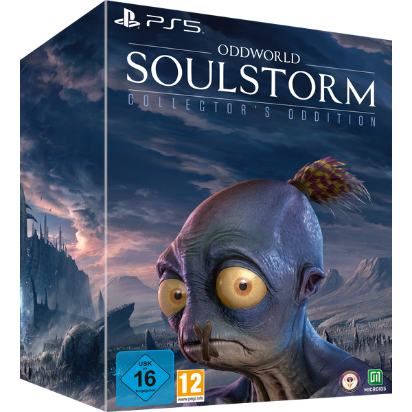 Oddworld Soulstorm Collector's Oddition PS5 Game
