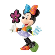 Minnie Mouse with Flowers Disney Britto Figurine
