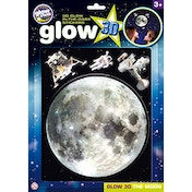 Glow 3D The Moon Glowstars