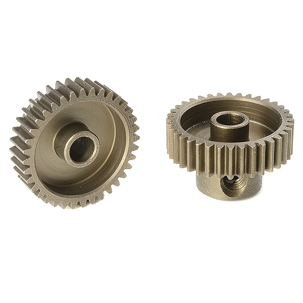 Corally 64 Dp Pinion Short Hardened Steel 36 Teeth Shaft Dia. 3.17Mm