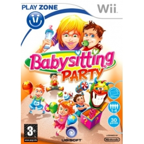 Babysitting Party Game Wii