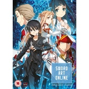 Sword Art Online Complete Season 1 Collection (Episodes 1-25) DVD