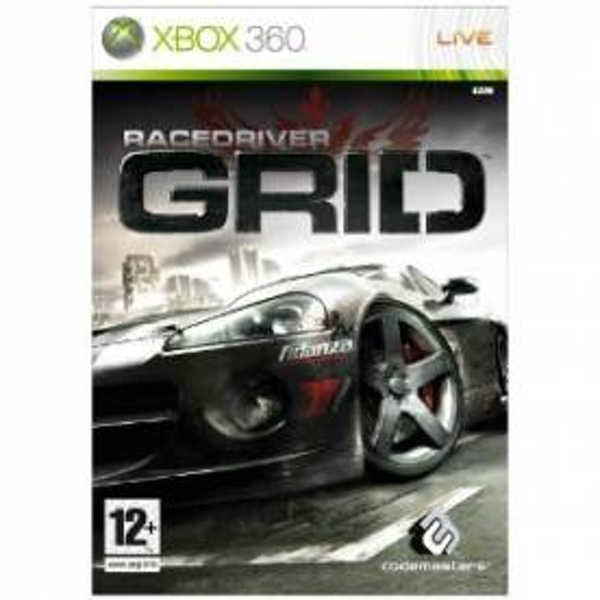 Race Driver GRID Game Xbox 360