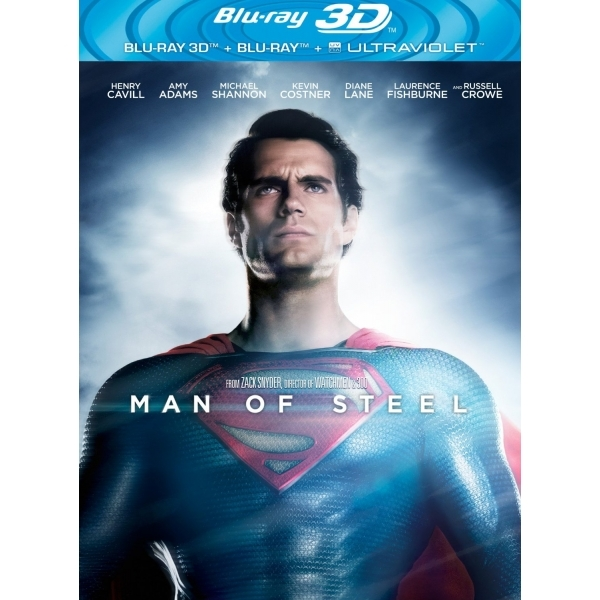 Man Of Steel 3D Blu-ray