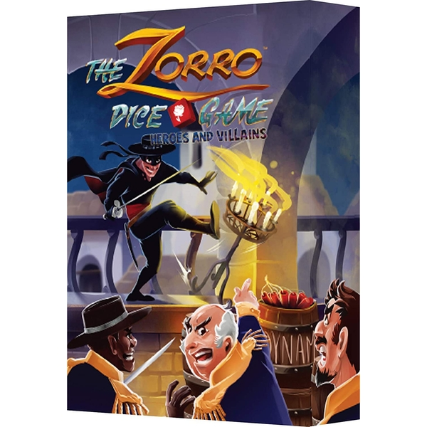 The Zorro Dice Game: Heroes and Villains Expansion